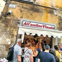 Street Food All'Antico Vinaio. Firenze